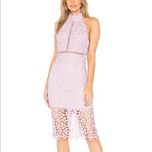 """NEW Gorgeous Bardot """"Gemma"""" Lace Dress in Orchid S"""